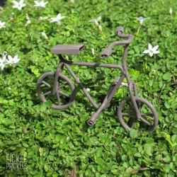 Mini Bicycle - Rust Brown
