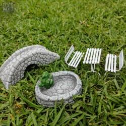 Mini Set - Roman Garden