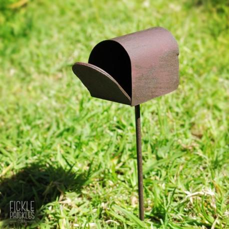 Rusty Mini Letterbox