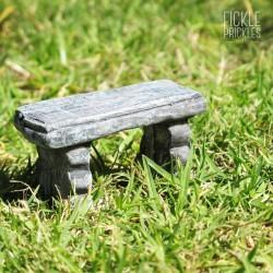 Mini Stone Bench