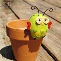 Bug Pot Pal - Yellow & Green
