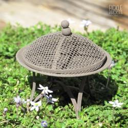 Rusty Mini Fire Pit