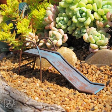Rusty Mini Playground Slide