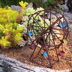 Rusty Mini Ferris Wheel