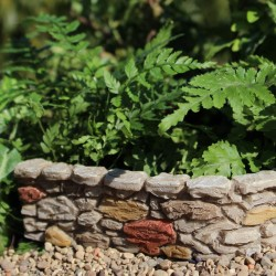 Mini Cobblestone Wall