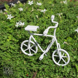Mini Bicycle - White