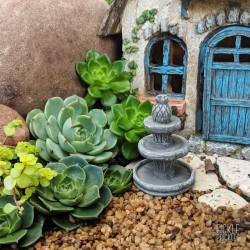 Mini Stone Fountain
