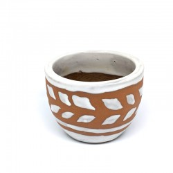 Mini Cup Planter Pot 9cm - Arrows