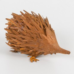 Small Rusted Metal Echidna