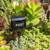 Mini Black Letterbox