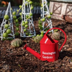 Mini Red Watering Can - Kensington Gardens