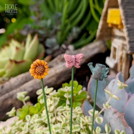 Ultra Mini Garden Stakes - Set of 3
