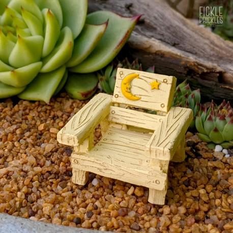 Mini Chair - Star and Moon