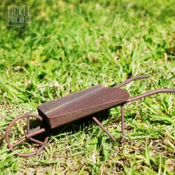 Rusty Mini Wheelbarrow