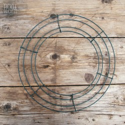 Wire Wreath Frame - Medium