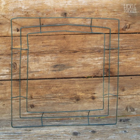 Square Wire Wreath Frame
