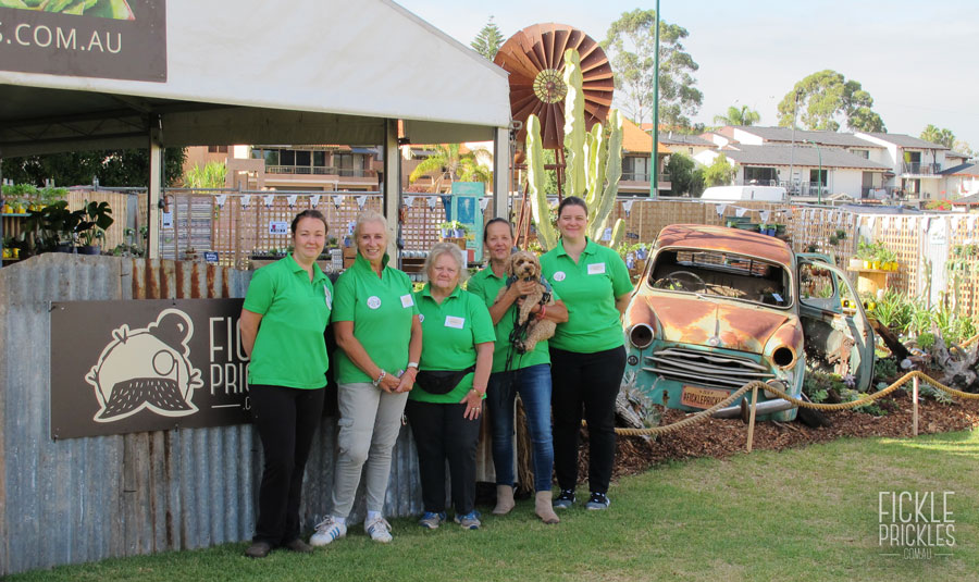 Fickle Prickles Display at the Perth Garden Festival 2018