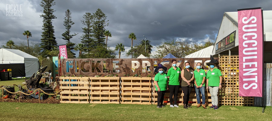 Perth Garden Festival 2021 - The FP Team