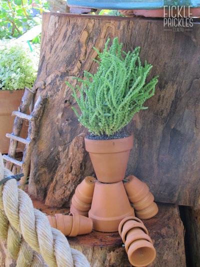 Bruce, the terracotta pot man
