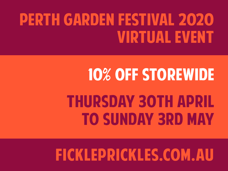 Perth Garden Festival 2020 Virtual Event